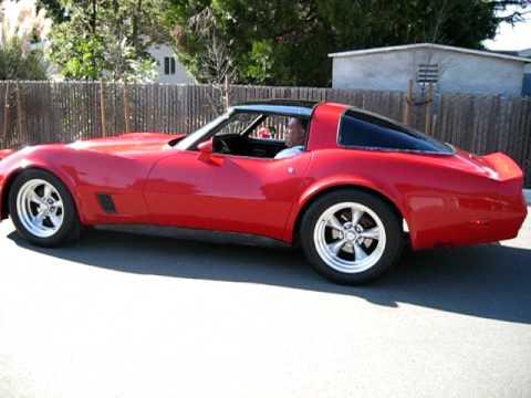 1981 Red Chevrolet Corvette Walkaround Youtube