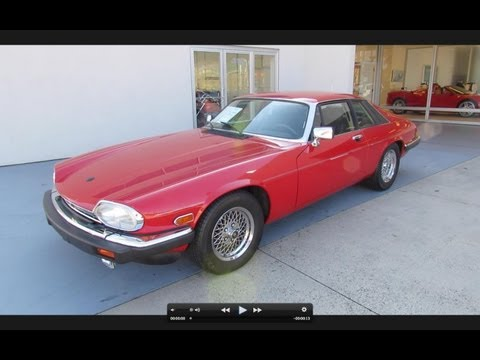 1989 Jaguar XJS V12 Start Up, Exhaust, and In Depth Tour