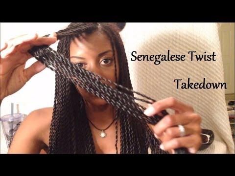 {1} Senegalese Twists Takedown on Long-term Transitioni