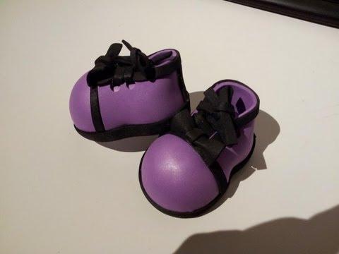 Como hacer unos zapatos elegantes para fofuchas youtube for Zapateros elegantes