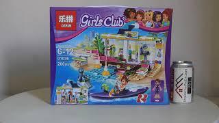 Mở hộp Lepin 01036 Lego Friends 41315 Heartlake Surf Shop giá sốc rẻ nhất