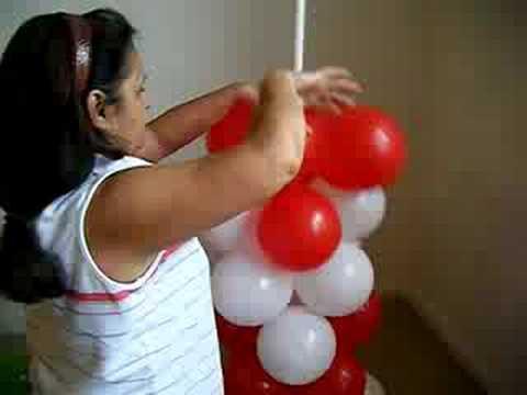 coluna de baloes(balloon column)