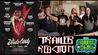 """""""The Devil's Candy"""" 2017 Horror Movie Trailer Reaction - The Horror Show"""