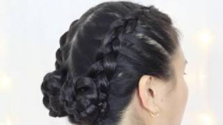 Dutch Braids into Buns | Chee Styles