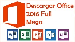 Instalar Microsoft Office 2016 full en Español / windows 10