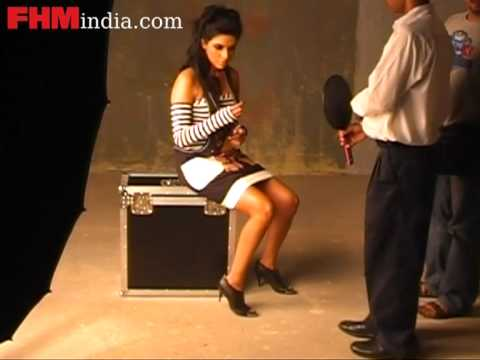 Behind the scene of Asin's photo shoot