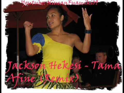 "Jackson Hekesi's song ""Tama Afine"" mixed. This appeared on Miss Teen Niue 2000 i think and it appears on the album ""Falala Niue"" produced by Manaia Studios -..."