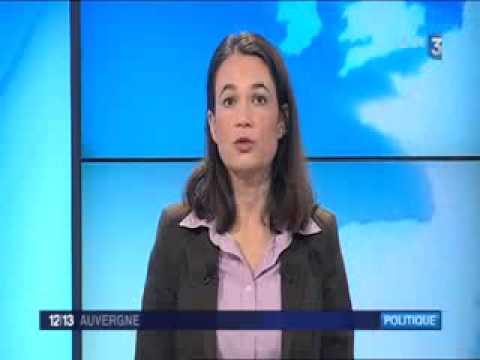France 3 - Carole Force directrice de l'ASM Omnisports à l'Elysée le 8 mars 2015