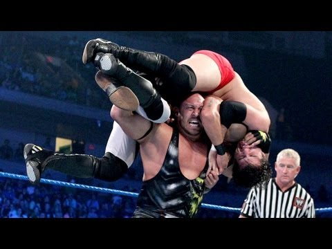 Ryback battles two athletes at the same time  2-on-1: SmackDown - May 25, 2012