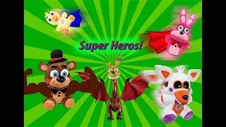 FNAF Plush Season 4 Episode 1: Super Hero's!