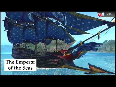 The Emperor of the Seas gameplay The Blue King customization Assassin's Creed Pirates best ship