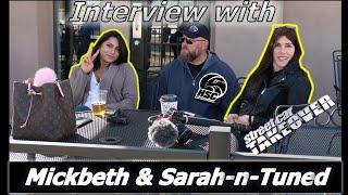 MICKBETH & SARAH-N-TUNED at Street Car Takeover | Tucson Dragway