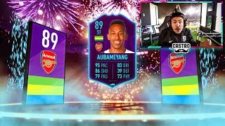 I GOT 89 POTM AUBAMEYANG!!! WALKOUT IN PACKS!! FIFA 19