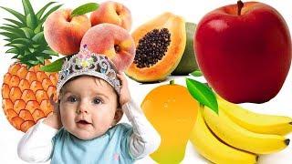 Dạy bé các loại trái cây trong đời sống_Tên gọi các loại trái cây đơn giản cho bé