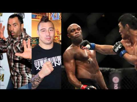 Joe Rogan and Dan Hardy Talk About Anderson Silva