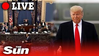 Donald Trump Impeachment - Day four of trial against US President in Senate   LIVE