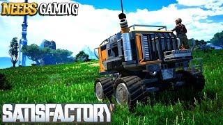 Satisfactory Building a Tractor