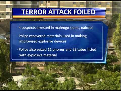 Nairobi Terror Plot Foiled video