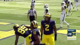 Michigan Routs Hawaii in Season Opener