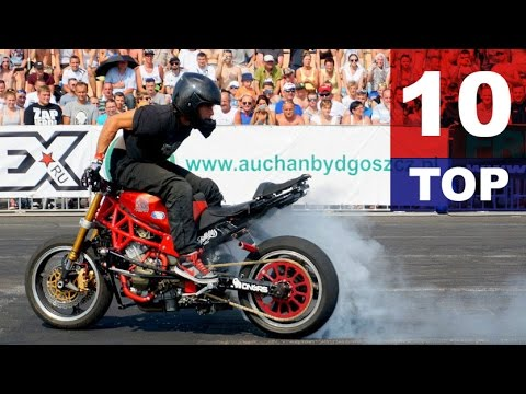 TOP10 Best Motorcycle Stunts StuntGP 2015