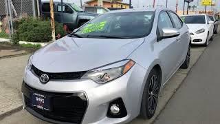 2014 Toyota Corolla S Plus for sale in RICHMOND, CA