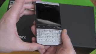 Porsche Design P'9981 BlackBerry Official Unboxing and Quick Review