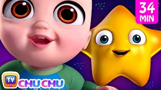 *New* Twinkle Twinkle Little Star 3 Song + More Nursery Rhymes & Kids Songs | ChuChu TV