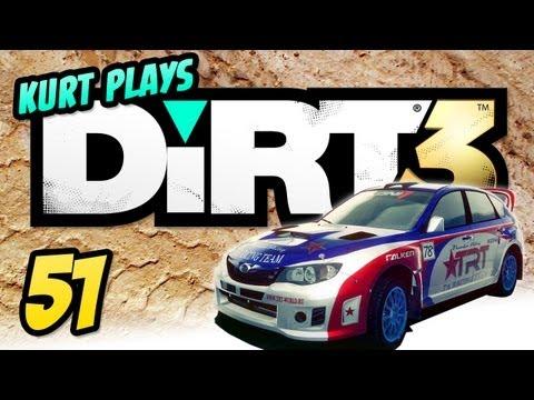 Kurt Plays DiRT 3 - E51 - Where's The Dirt? (FINAL)