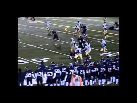 Brandon Lewis Football Highlight