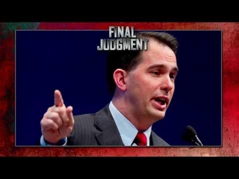 Final Judgement: Scott Walker Punts On Evolution