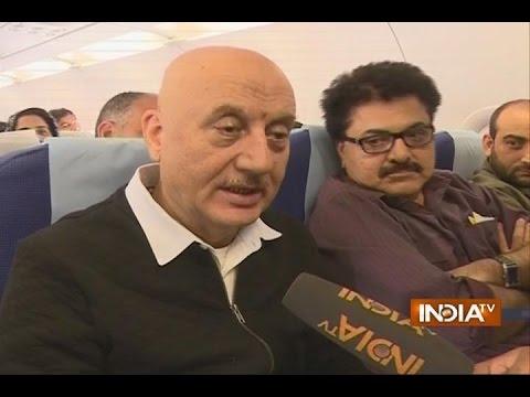 Anupam Kher and Ashok Pandit Stopped at Srinagar Airport, Denied Entry in NIT