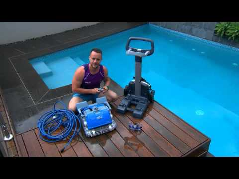 Dolphin pool cleaner review - by Healthy Homes TV Australia