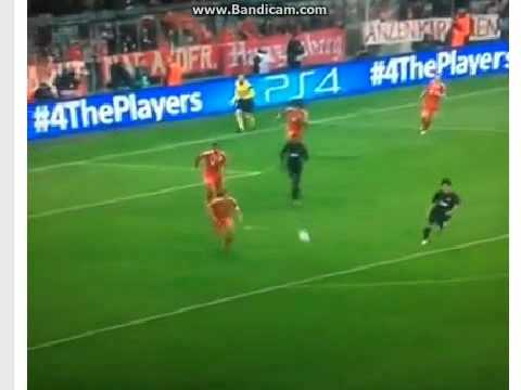 When Neuer start to celebrate goal with Patrice Evra  HAHA