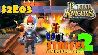 Portal Knights deutsch ⚔️ S2E03 Kohle, Aufbau Crafting Stations & Mini Unboxing | gameplay german