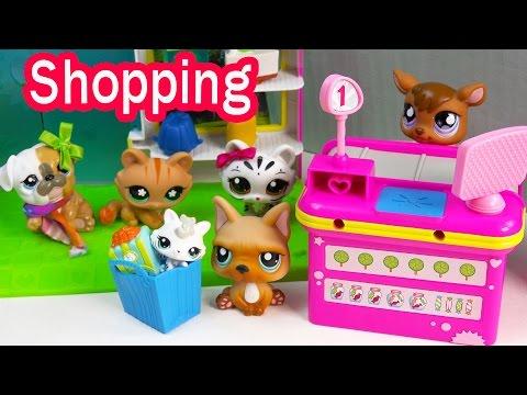 LPS Mommies Cozy Cabin Trip Vacation Littlest Pet Shop Part 3 of 4 Video Series Shopkins Season