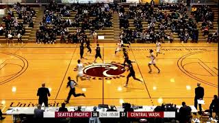 SPU MEN'S BASKETBALL: Harry Cavell dunk (Feb. 29, 2020)