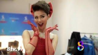 BÊN LỀ GAME SHOW| KHÁNH MY NHÍ NHẢNH TRONG HẬU TRƯỜNG BƯỚC NHẢY HOÀN VŨ-VIP DANCE | 8tv.vn