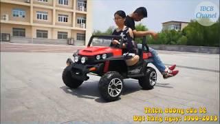 Xe điện trẻ em chở cả mẹ và bé S2588