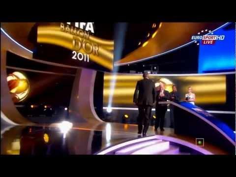 Sir Alex Ferguson - FIFA Ballon d'Or 2011 - FIFA Presidential Award [HD]