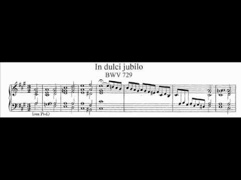 Бах Иоганн Себастьян - In dulci jubilo