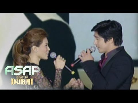 Piolo Pascual & Toni Gonzaga 'starting Over Again' Duet On 'asap' Dubai video