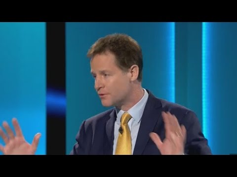 Nick Clegg and Ed Miliband clash over tuition fees at leaders' debate