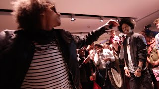 Les Twins dance battle at Breakin' Convention Sadler's Wells