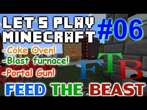 Lets Play Minecraft FTB Ep 6 Epic New Tool Upgrades