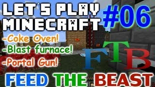 Let's Play Minecraft FTB Ep 6 - Epic New Tool Upgrades!