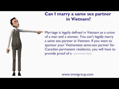Can I marry a same sex partner in Vietnam?