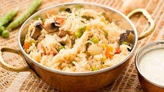Vegetable Pulao (ভেজিটেবল পোলাও)