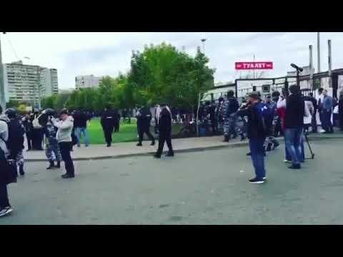 Второй день в Люблино идут беспорядки у ТЦМосква