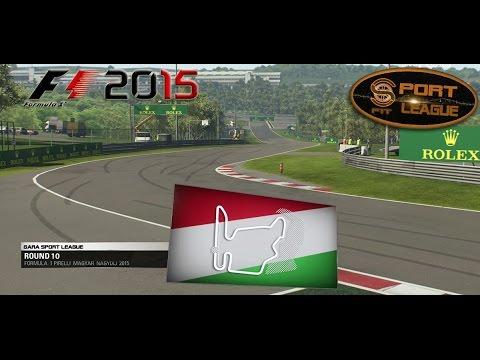 Sport League #10 GP Ungheria F1 2015 25.01.16 - Live Streaming 1080p HD