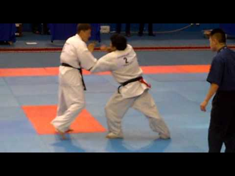 World Cup Karate Kyokushin Tournament 2011 Chile vs Kazakhstan Image 1